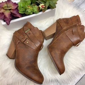 XOXO Ankle Boots